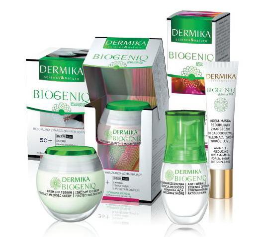 Ungdom före allt! Dermikas kosmetikaserie, Biogeniq.